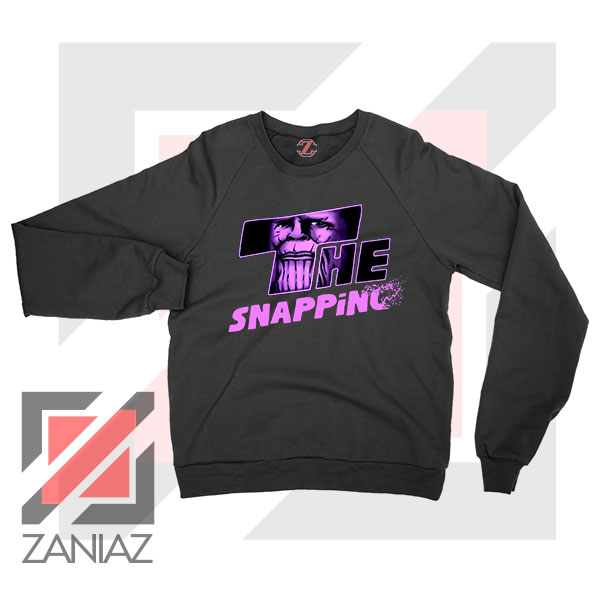 The Snapping Graphic Thanos Sweatshirt