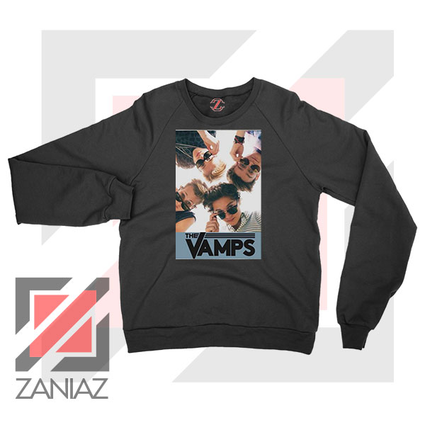 The Vamps Pop Band Black Sweatshirt