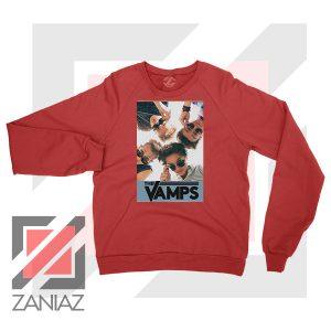 The Vamps Pop Band Red Sweatshirt