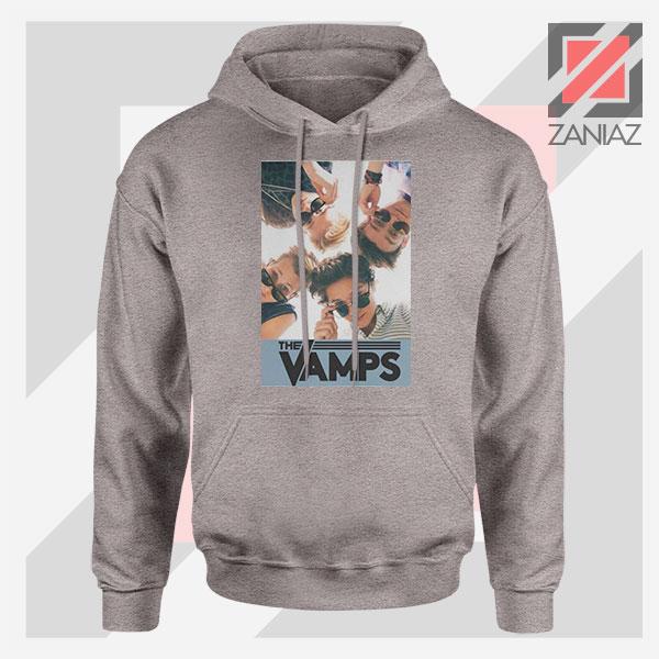 The Vamps Pop Band Sport Grey Hoodie