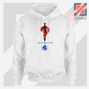 The World Is Vaccinated Covid Hoodie