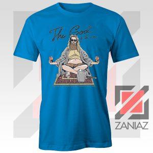Thor Lebowski Film Designs Blue Tshirt