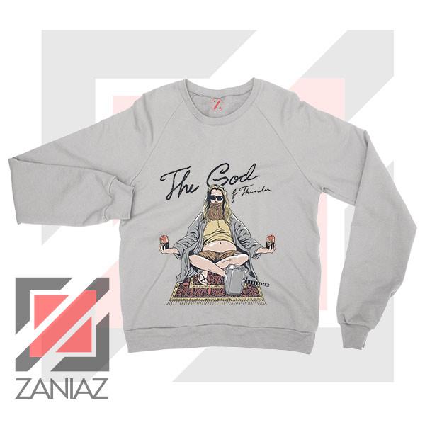Thor Lebowski Film Designs Sport Grey Sweater