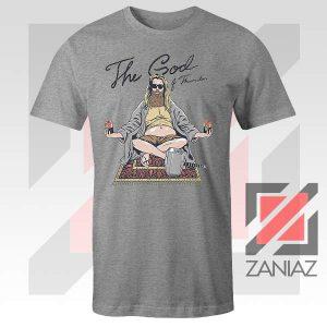 Thor Lebowski Film Designs Sport Grey Tshirt