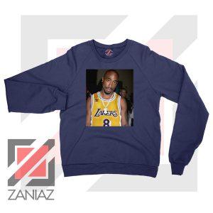 Tupac GOAT Lakers Navy Blue Sweatshirt