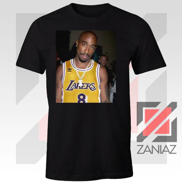 Tupac GOAT Lakers Tshirt