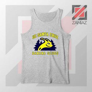 UC Banana Slugs Mascot College Sport Grey Tank Top