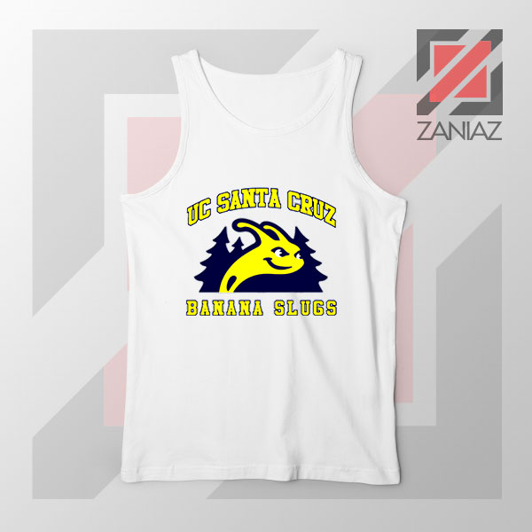 UC Banana Slugs Mascot College Tank Top