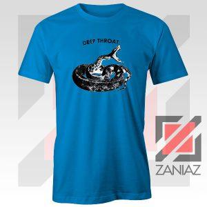 Jolt Deep Throat Rattlesnake Blue Tshirt