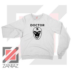 Doctor X Face Graphic Sweatshirt