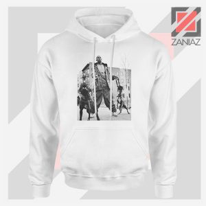 DMX The Dogs Designs White Hoodie