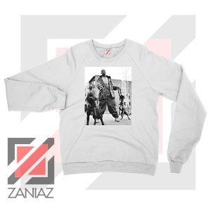 DMX The Dogs Designs White Sweatshirt
