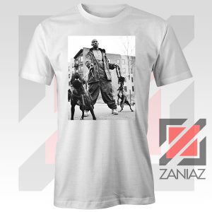 DMX The Dogs Designs White Tee