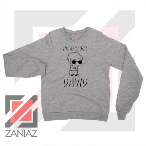 Dave Strider Paint Adventure Grey Sweater