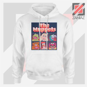 Disney The Muppets Musical White Hoodie