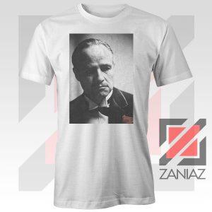 Don Vito Corleone Portrait White Tshirt
