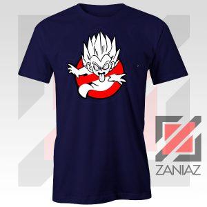 Dragon Ball Parody Ghostbusters Navy Blue Tshirt