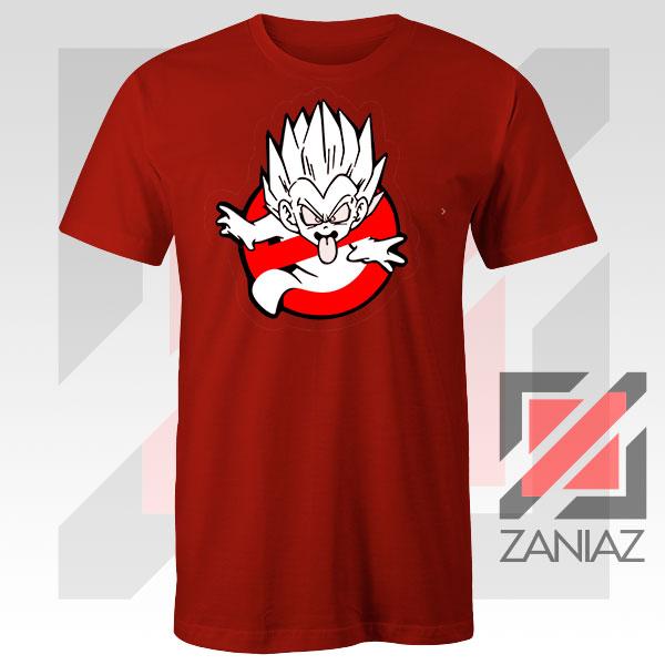 Dragon Ball Parody Ghostbusters Red Tshirt