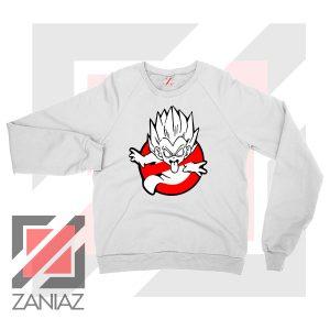 Dragon Ball Parody Ghostbusters White Sweatshirt