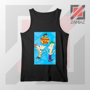 Funny Phineas and Ferb Disney Tank Top