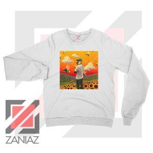 Gap Tooth T Flower Boy Graphic White Sweatshirt
