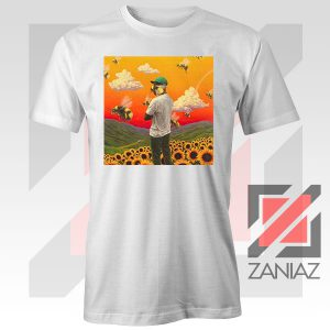Gap Tooth T Flower Boy Graphic White Tshirt