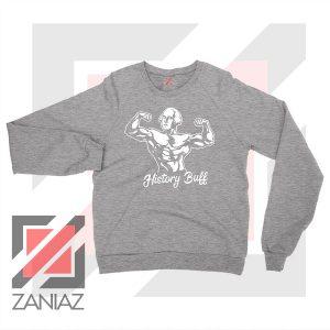 George Washington Bull Grey Sweatshirt