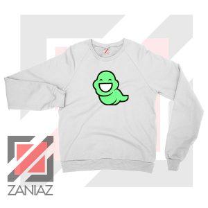 Green Ghost Animated Sweatshirt