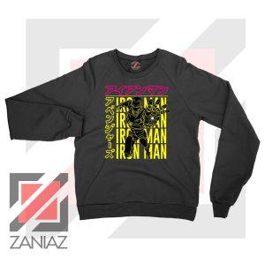 Iron Man Designs Anime Sweatshirt