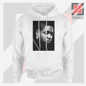 Jadakiss Rapper Graphic White Hoodie
