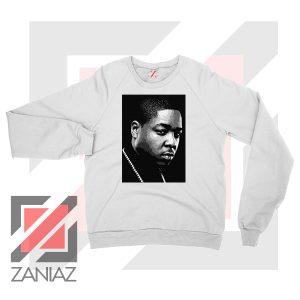 Jadakiss Rapper Graphic White Sweatshirt