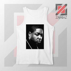 Jadakiss Rapper Graphic White Tank Top