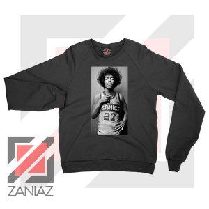 Jimi Hendrix Team 27 Sonics Sweater