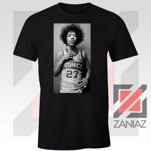 Jimi Hendrix Team 27 Sonics Tshirt