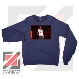 Kill Edward Bulls 45 Design Navy Blue Sweater
