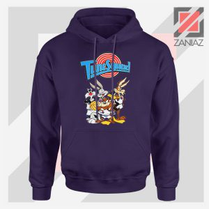 New Tune Squad Space Jam Navy Blue Hoodie