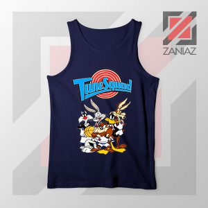 New Tune Squad Space Jam Navy Blue Tank Top