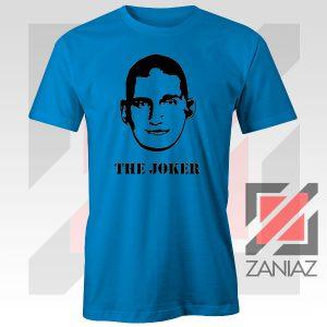 Nikola The Joker Design Blue Tee