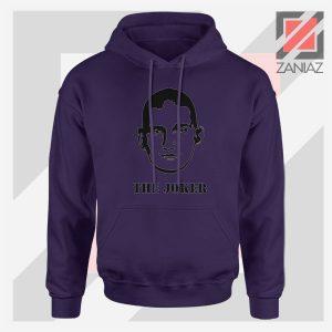 Nikola The Joker Design Navy Blue Hoodie