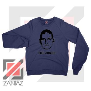 Nikola The Joker Design Navy Blue Sweatshirt