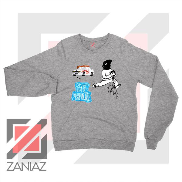Pure Adrenaline Jackboys Sport Grey Sweatshirt