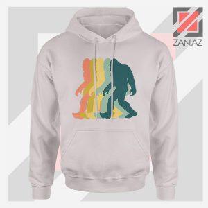 Rainbow Bigfoot Graphic Sport Grey Hoodie