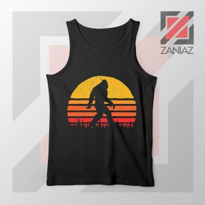 Sasquatch Silhouette Designs Tank Top