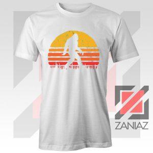Sasquatch Silhouette Designs White Tshirt