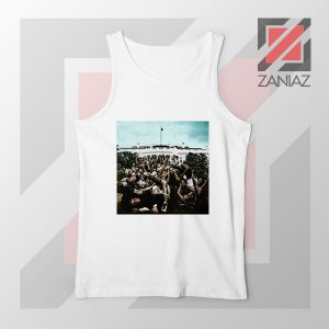 To Pimp a Butterfly Album White Tank Top
