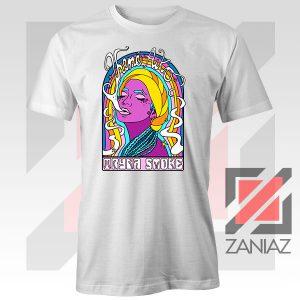 Tryna Smoke Aiko White Tshirt