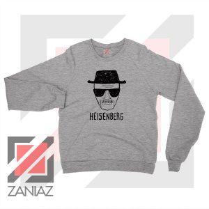 Walter White Heisenberg Sport Grey Sweatshirt