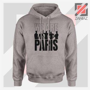 We Are Paris Best Squad Sport Grey Sweatshirt