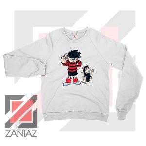 Get Gnasher Comedy Design Sweatshirt