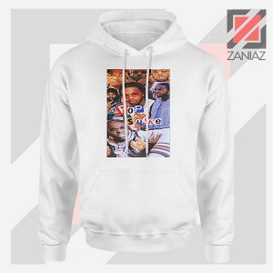 4 Welcome to The Party Pop Smoke White Hoodie